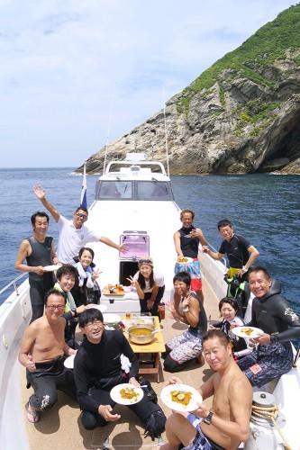 地元の海の幸や特産品は欠かせないですよねー!