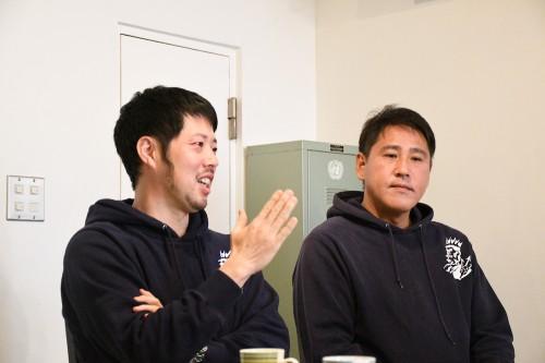 大槻さん(左)、七尾さん(右)