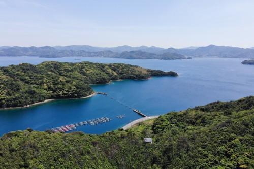 青海島の内海、紫津浦湾(撮影/堀口和重)