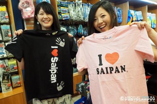 定番のTシャツはバリエーション多数。