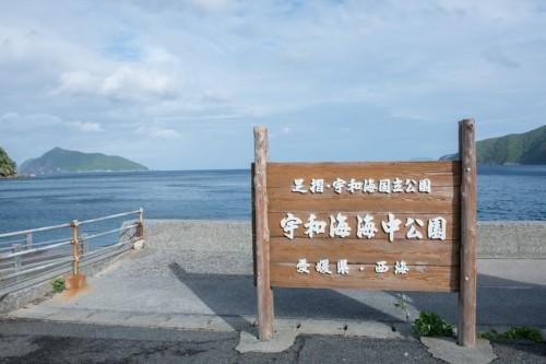 高知県の足摺岬から愛媛県宇和海沿岸まで広がる国立公園(撮影/堀口和重)