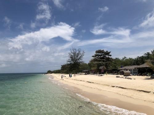 ルスカン島のビーチ