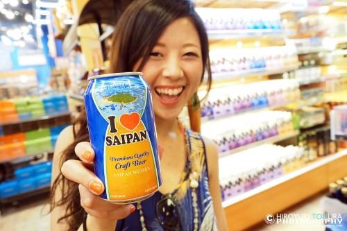 サイパンビールは6本お買い上げ。
