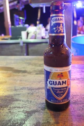 グアムビール飲むよね