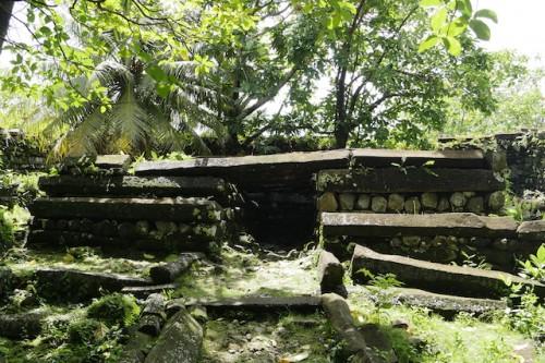 王の墓といわれる場所