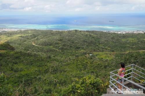 島全体を360度見渡せる絶景ポイント!