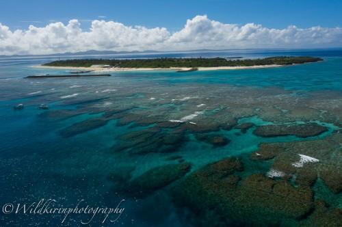 まるでどこか海外のような、美しい光景が広がる水納島
