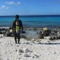 カリブ海に浮かぶ小さな島