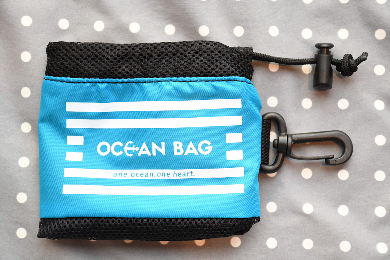 水中メッシュゴミ袋「オーシャンバッグ」ついに予約購入受付開始!数に限りがあるのでお早めに〜〜!