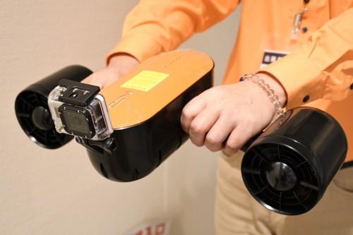 「GoPro」装着可能