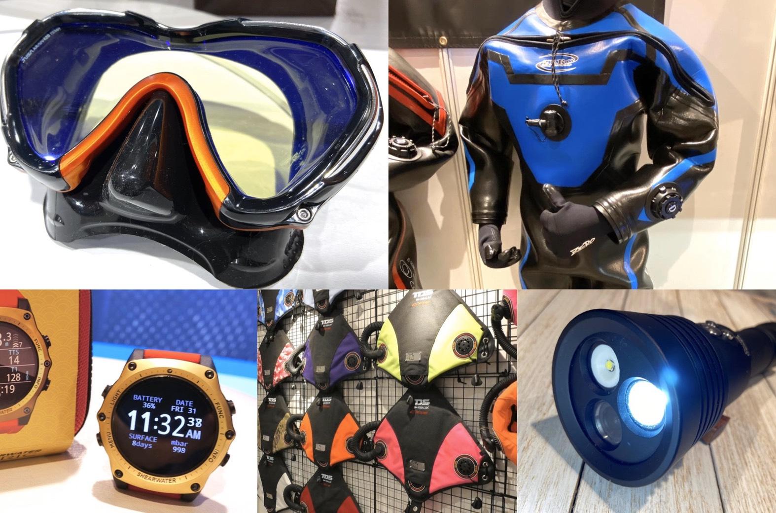2020年最新ダイビング器材を編集部が総力取材!【4】~ダイビングフェスティバル2020レポート