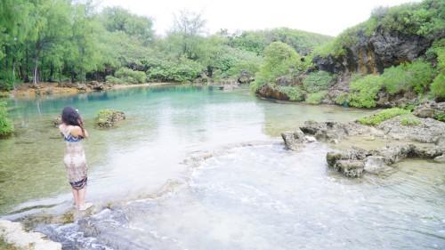 イナラハン天然プール