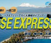次の記事: 【7~8月限定】新宿発バスとフェリーで西伊豆・大瀬崎へGO!