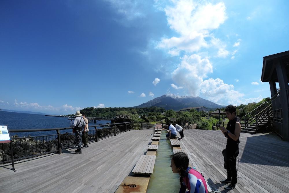 桜島ダイビングレポート[後編] !海なのに雪景色!?な溶岩の港