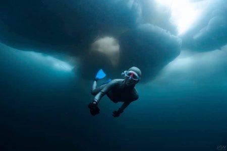 流氷フリーダイビング