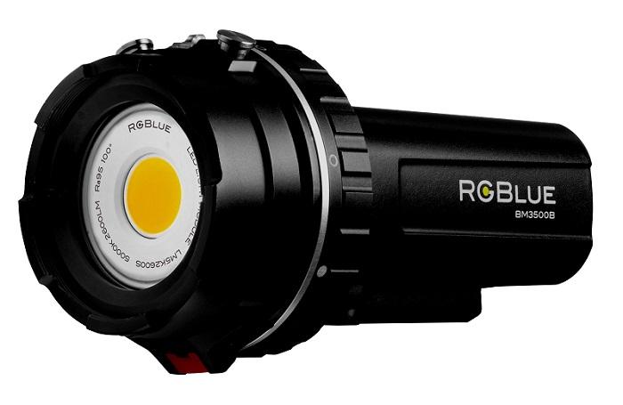 本来の色彩を究極まで再現できる水中ライト「スーパーナチュラルカラー」がRGBlueから新発売!