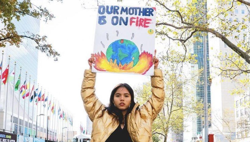 環境問題に立ち向かう5人の若き英雄たち