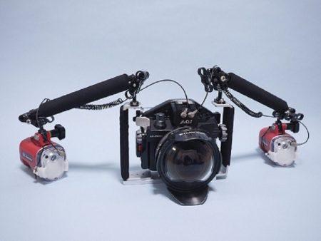 OM-D E-M5 Mark IIIカメラ対応ハウジング ワイドセット
