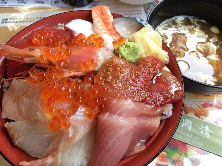 おかせいの海鮮丼