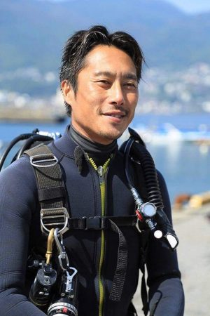 Dive Family Yellowの川坂秀和さん
