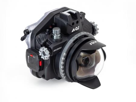 レンズ:MZD8mmFisheyeF1.8 ポート:DLP01+ER-OD OD-22