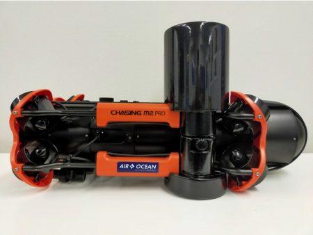 700Whバッテリー取付時 浮力材も同梱(※M2 PRO本体は価格に含まれません)