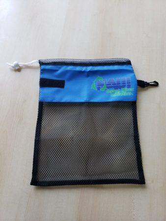 NAUI水中ゴミ拾い用メッシュバッグ