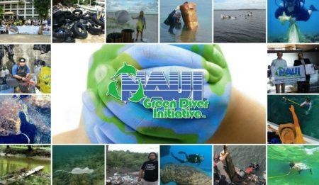 NAUI Green Diver