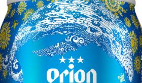 オリオンサザンスター超スッキリの青 赤土流出防止デザイン缶