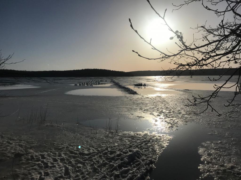 今回の大会会場 フィンランドのSonnanen湖 photo by  Antero Joki