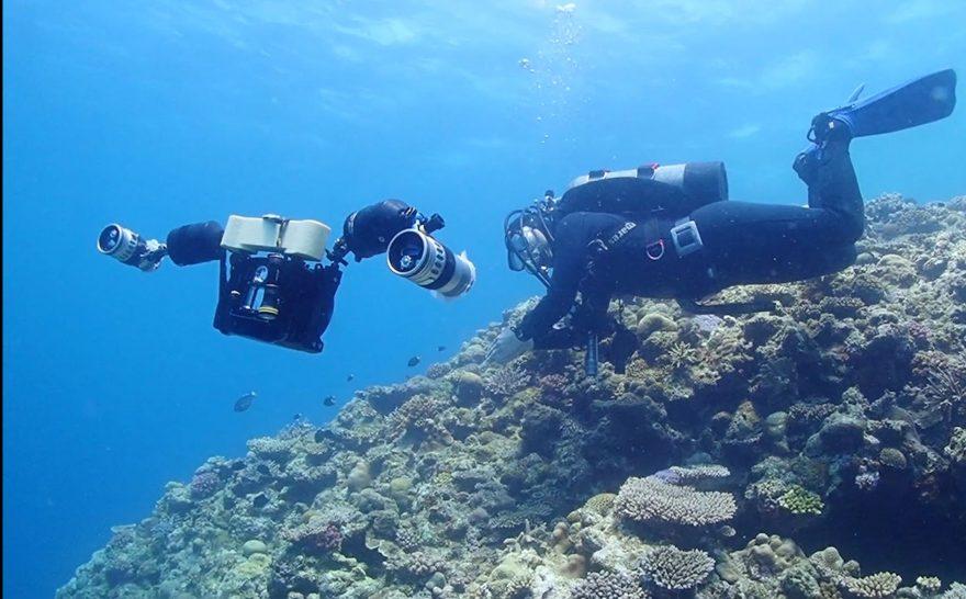 中性浮力をたもつカメラ