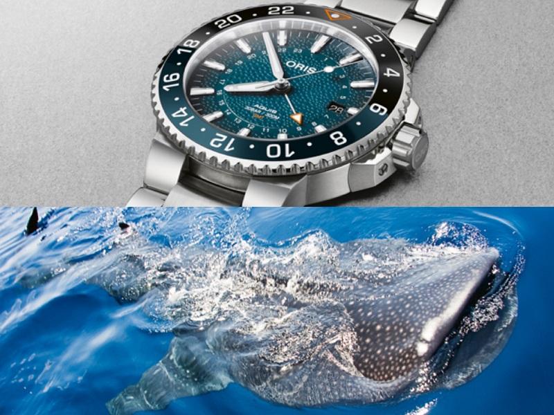 ジンベイザメが危ない!時計メーカー「ORIS」がダイバーズウォッチで発信