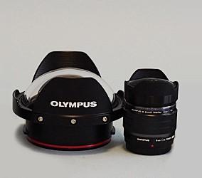 """【""""ミスターオリンパス水中""""清水淳のカメラレビュー】M.ZUIKO DIGITAL ED 8mm F1.8 Fisheye PRO&PPO-EP02"""