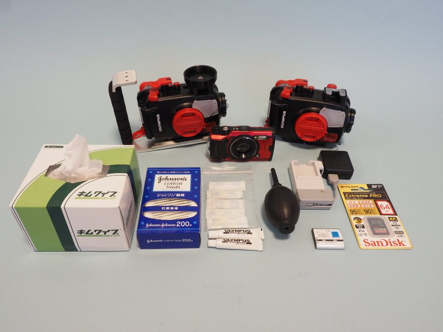 【動画】オリンパスTG-6カメラ・ハウジングメンテナンス方法をご紹介