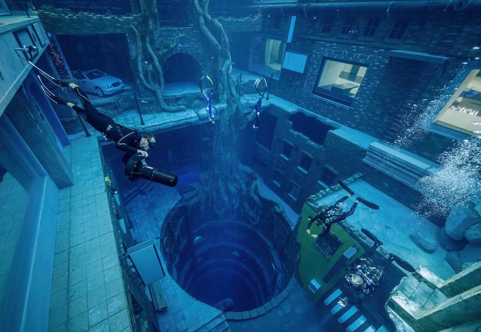 世界一深いダイビングプールが誕生!あの国だからこそ、やはりレベルは桁違い
