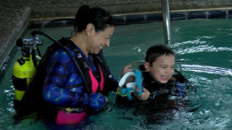 ダイビングがきっかけか、自閉症を持つ子どもが起した奇跡とは!?