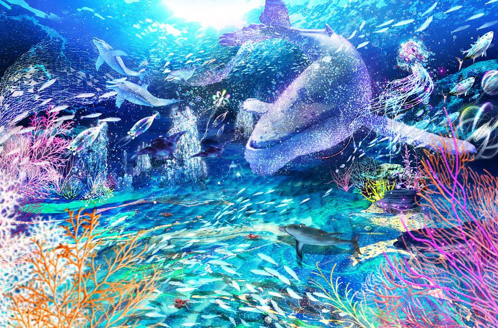 親子で学べる「海の探検図鑑VR」で深海を感じる非日常体験を