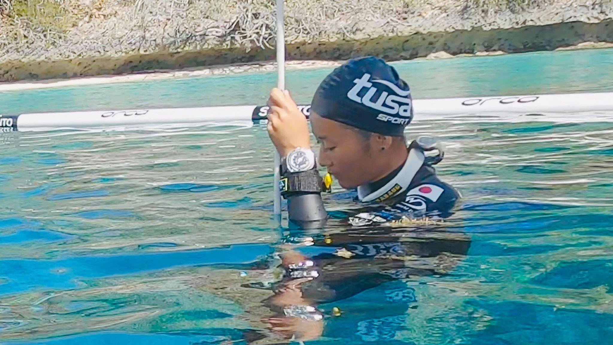 「未知の深さに挑戦できることへの喜び」フリーダイバーHANAKO銅メダル受賞インタビュー