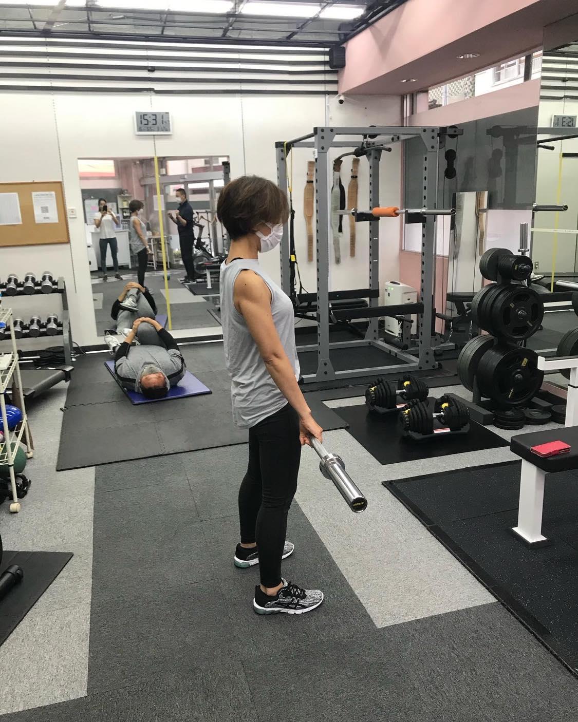 熱海市のプロトレーナー八代直也コーチ指導のもとでのトレーニング