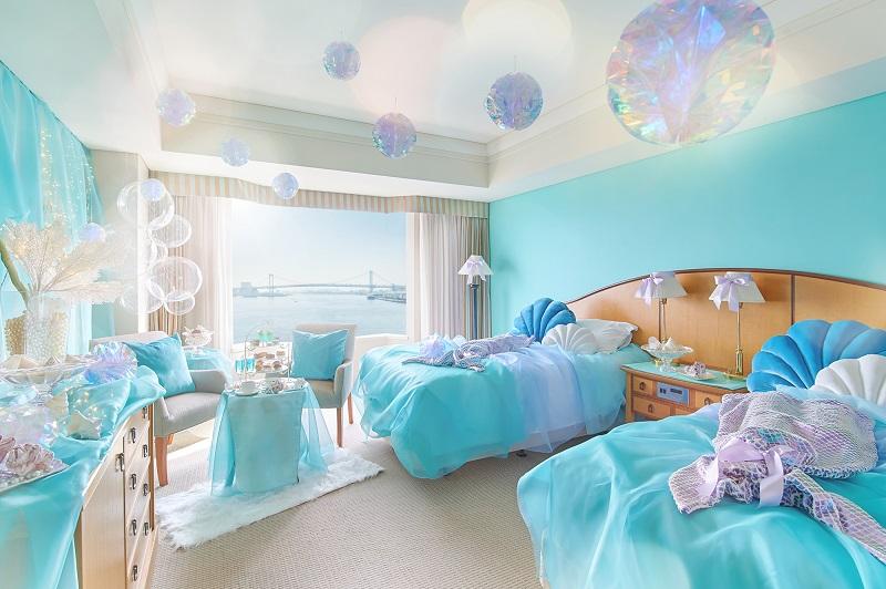 「可愛すぎ!」と話題の、海と氷の世界をイメージした客室がすごい!