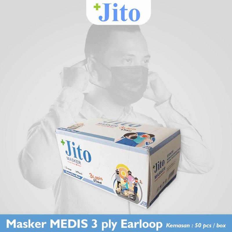 約1.5年で自然に還る「JITO」の使い捨てマスク